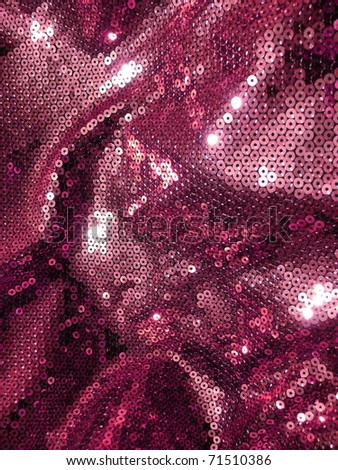 Elegant sequined sparkling textile close up. More of this motif & more textiles in my port.