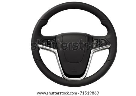 Steering wheel Royalty-Free Stock Photo #71519869