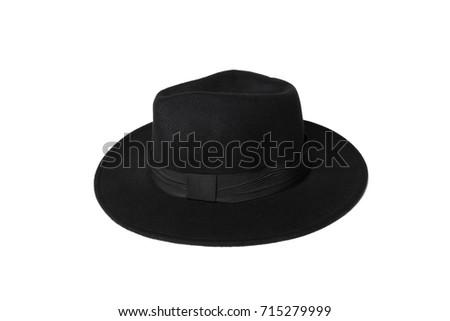 fedora hat isolated on white #715279999