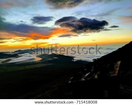 Sunrise over Mt. Fuji #715418008