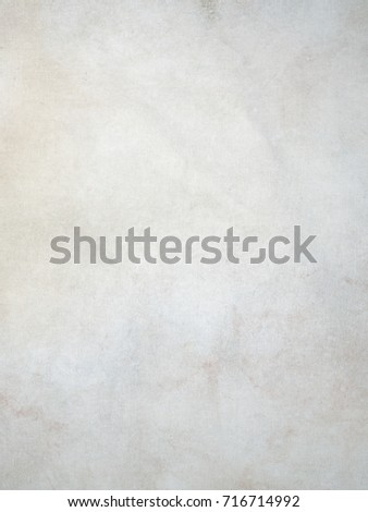 Dirty white vintage canvas background with stains and pigments #716714992