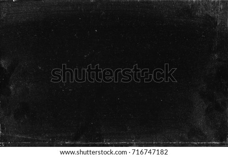 Dust, scratches and dirt - grunge texture useful like layer for photo editor Royalty-Free Stock Photo #716747182