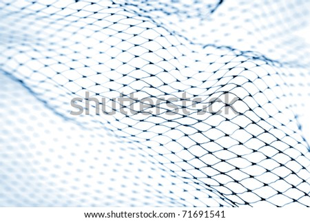 Closeup of netting #71691541