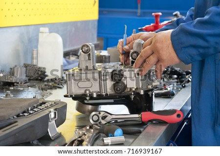 Automatic transmission  repair (fragment) #716939167