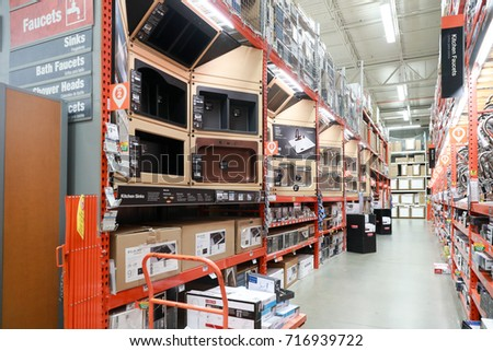 Philadelphia, Pennsylvania, USA, September 16, 2017: The Home Depot #716939722