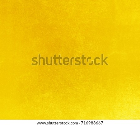 Shiny yellow leaf gold foil texture background #716988667