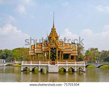 The Bang Pa-in Palace in Thailand #71701504