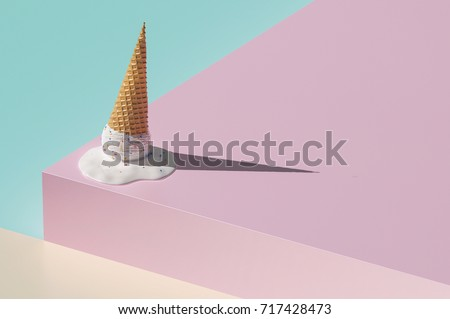 Geometry color background concept