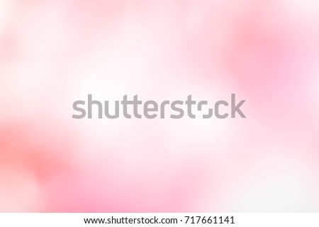 Abstract blur light gradient pink soft pastel color wallpaper background.