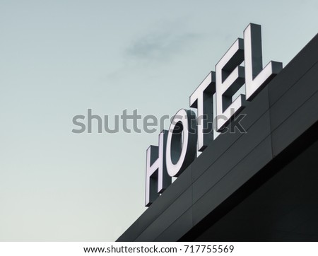 Sign Hotel