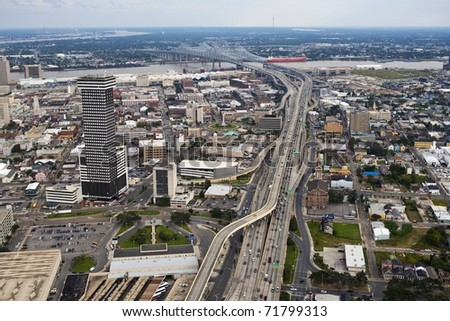 New Orleans Route 90 #71799313