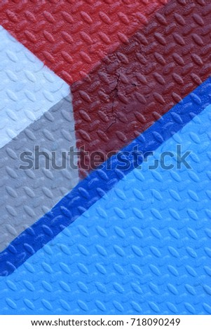 Red, White, and Blue Diamond Plate #718090249