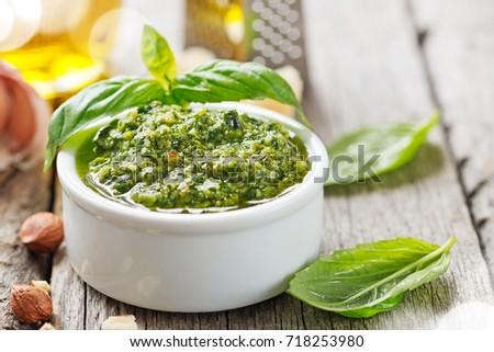 Pesto sauce. #718253980