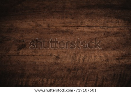 Old grunge dark textured wooden background,The surface of the old brown wood texture #719107501