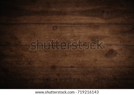 Old grunge dark textured wooden background,The surface of the old brown wood texture #719216143