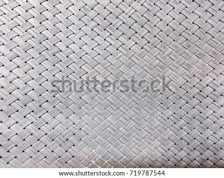 Plastic Woven Sheet Texture #719787544