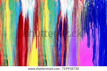 hand painted  abstract background #719958730