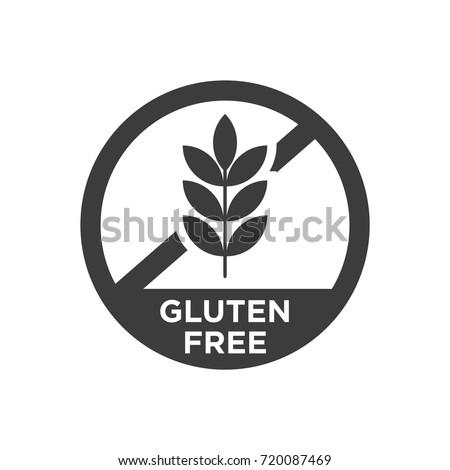 Gluten free icon. Vector illustration.