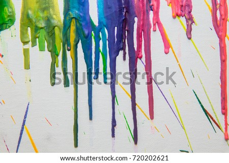 Paint drips #720202621