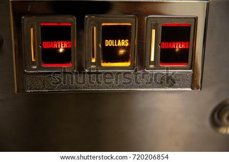 Pinball slots Royalty-Free Stock Photo #720206854