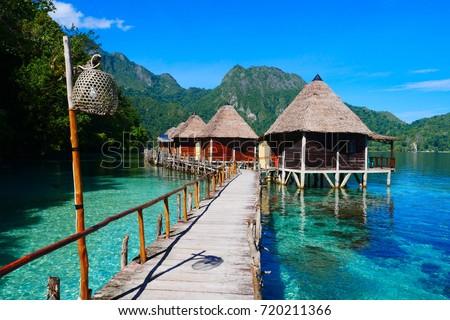 ora beach in ceram island. moluccas #720211366