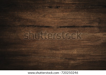 Old grunge dark textured wooden background,The surface of the old brown wood texture #720250246