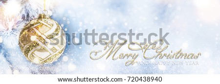 Christmas and New year holidays background #720438940