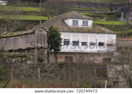 Old house in Galicia (Spain) #720749473
