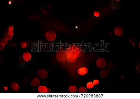 Red bokeh abstract background. #720983887