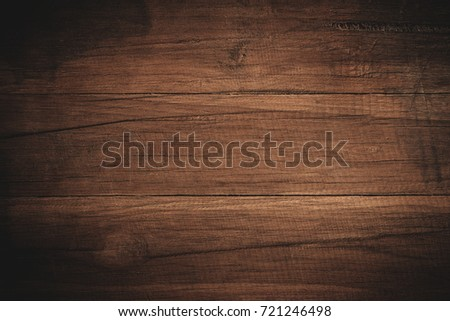 Old grunge dark textured wooden background,The surface of the old brown wood texture #721246498