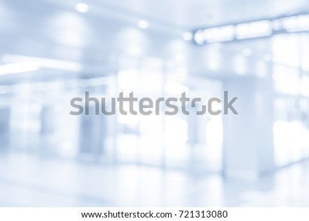 BLURRED OFFICE INTERIOR BACKGROUND, COMMERCIAL HALL #721313080