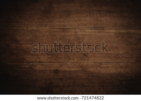 Old grunge dark textured wooden background,The surface of the old brown wood texture #721474822