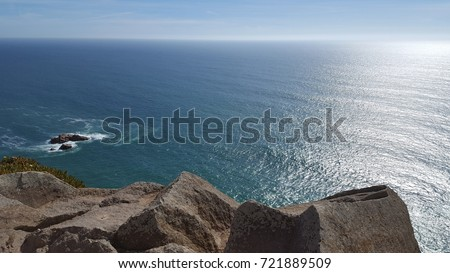 Atlantic ocean Royalty-Free Stock Photo #721889509