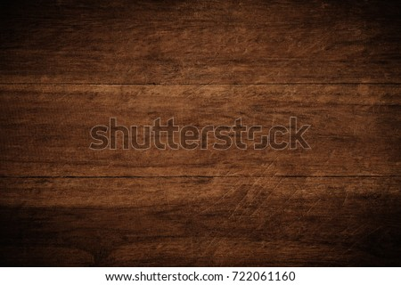 Old grunge dark textured wooden background,The surface of the old brown wood texture #722061160
