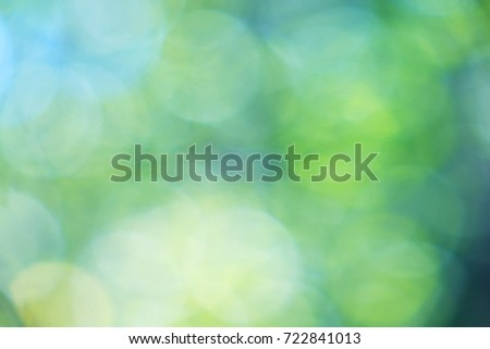 Dreamy bokeh background-green & blue #722841013