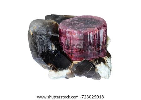 Rubellite tourmaline from Pikarec, Moravian Highlands, Czech republic.  #723025018