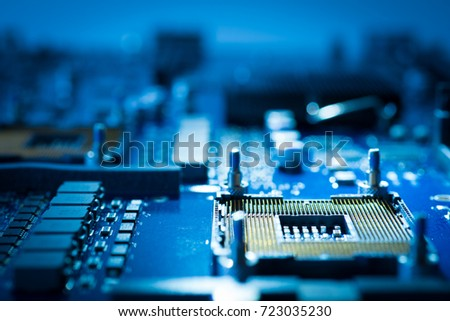semiconductor board circuit assembly technology #723035230