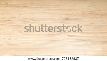 Light wood texture background surface with old natural pattern or old wood texture table top view. Washed surface with wood texture background. Organic timber texture background. Rustic table top view #723132637