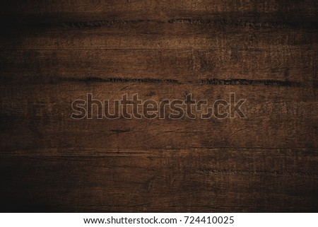 Old grunge dark textured wooden background,The surface of the old brown wood texture #724410025