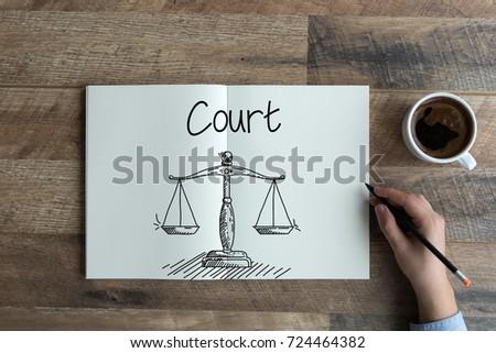 COURT CONCEPT #724464382