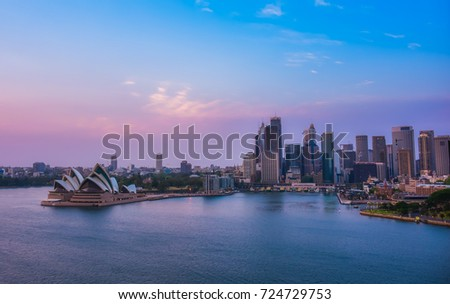 KOSIT: SYDNEY, AUSTRALIA - SEPTEMBER 24, 2017: Photo of Sydney Opera House #724729753