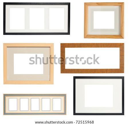 Multiple Picture frames to add your own photos