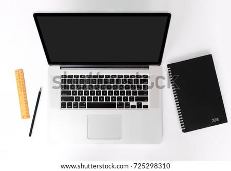 presentation mockup for website design and mobile application design