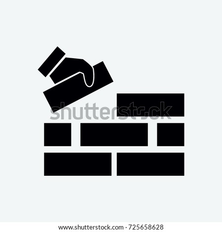 build icon vector Royalty-Free Stock Photo #725658628