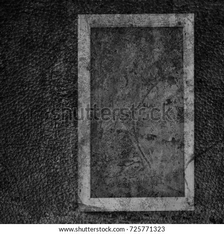 Chalkboard on a leather background texture #725771323