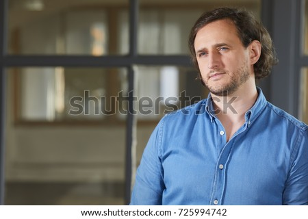 portrait of the man  #725994742