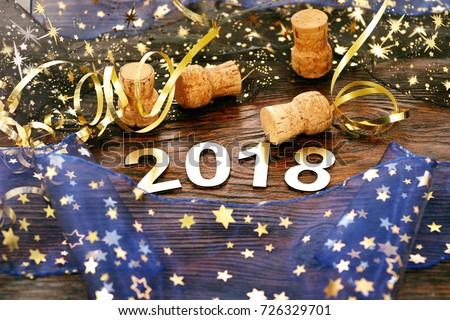 Happy New Year 2018 #726329701