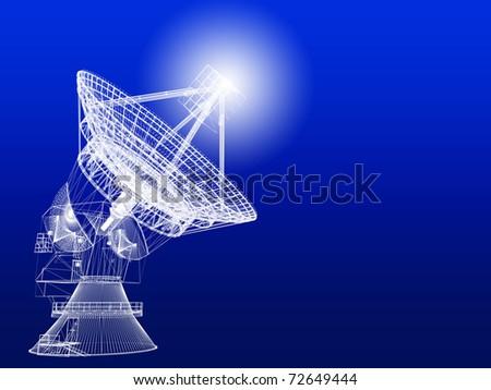 Satellite dish #72649444