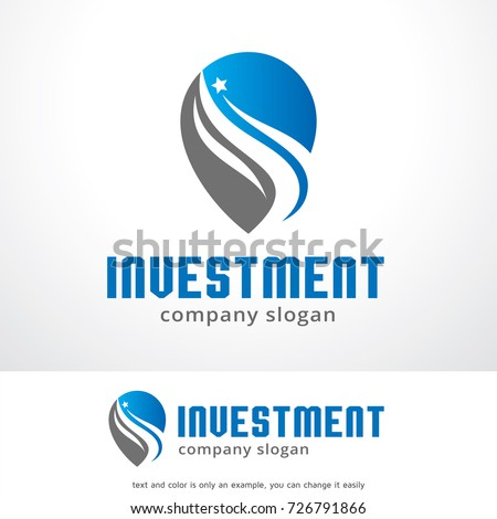 Investment Logo Template Design Vector, Emblem, Design Concept, Creative Symbol, Icon #726791866