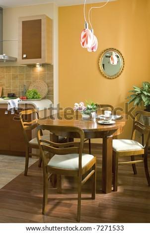 classic dining room #7271533